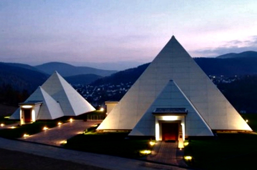 Rayonex Headquarters - The Sauerland Pyramids
